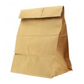 Papieren zak zonder handvat kraft 18+11x34cm (500 stuks)