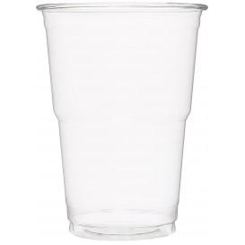 Plastic beker PET Kristal transparant 490 ml (60 stuks)