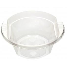 Bol de Plastico PS Transparente 630ml (10 Uds)