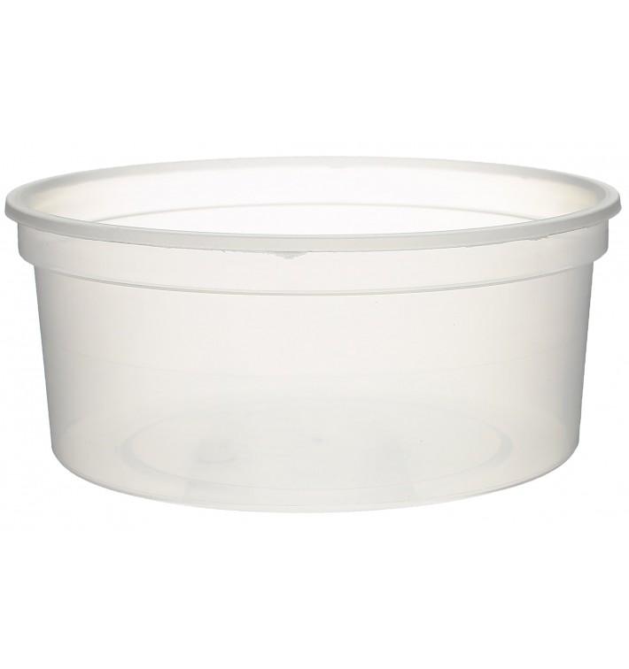 Plastic deli Container transparant PP 350ml Ø11,5cm (500 stuks)