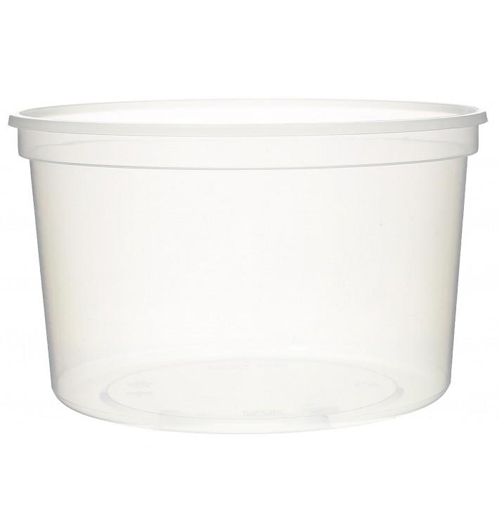 Plastic deli Container transparant PP 500ml Ø11,5cm (500 stuks)