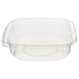 Plastic deli Container PET onverbrekelijk 250ml 12x12x3cm (50 stuks)