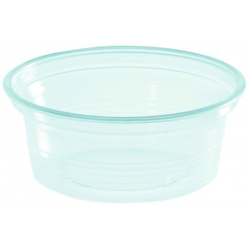 Plastic souffle beker PS transparant 50ml Ø7cm (50 stuks)