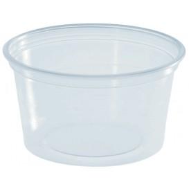Plastic souffle beker PS transparant 80ml Ø7cm (100 stuks)