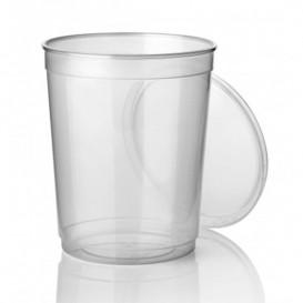 Plastic deli Container PP transparant 1000 ml Ø11,5cm (250 stuks)