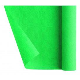 Papieren tafelkleed rol groen 1,2x7m (1 stuk)