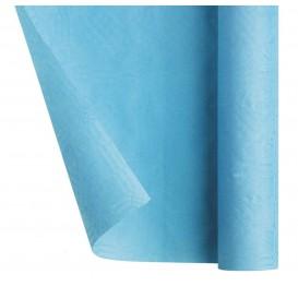Papieren tafelkleed rol lichtblauw 1,2x7m (25 stuks)