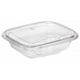 Plastic deli Container PET onverbrekelijk 375ml 14x12x4cm (504 stuks)
