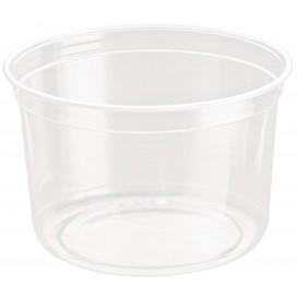 """Plastic deli Container rPET """"DeliGourmet"""" 16 Oz/473ml (50 stuks)"""