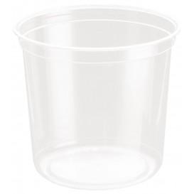 """Plastic deli Container rPET """"DeliGourmet"""" 24 Oz/710ml (50 stuks)"""