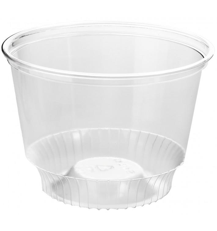 Plastic PET Container Kristal Solo® 8Oz/240ml Ø9,2cm (1000 stuks)