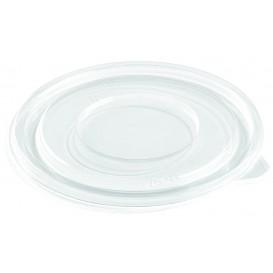 Plastic Deksel voor Kom PET Plat Ø14cm (50 stuks)