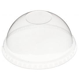 Plastic PET koepel Deksel gesloten 270ml Ø9,3cm (100 stuks)