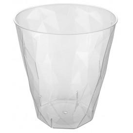 """Plastic PS Shotje """"Ice"""" transparant 50ml (50 stuks)"""