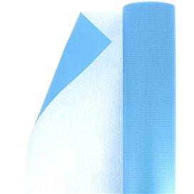 Papieren rol van inpakpapier Cellulose turkoois 100m (1 stuk)