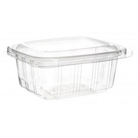 Plastic scharnierende Deli-Container PET hoog koepel Deksel 250ml (50 stuks)