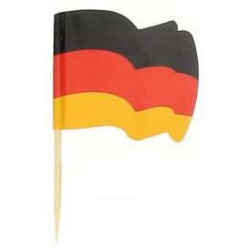Vlag van Duitsland vleespennen 6,5cm (14400 stuks)