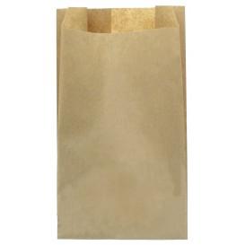 Papieren voedsel zak kraft 12+6x20cm (250 stuks)