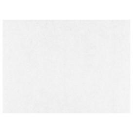 Graspapier inpakvellen PE wit 33x42cm (1000 stuks)