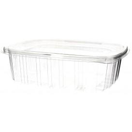 Plastic scharnierend Deksel OPS 1500ml (60 stuks)