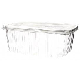 Plastic scharnierend Deksel OPS 2000ml (60 stuks)