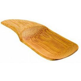Bamboe proeving lepel 10x4cm (24 stuks)