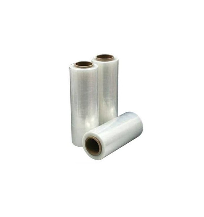 Handmatige pallet wikkelfolie 5cm 2,1Kg transparant (6 bobinas)