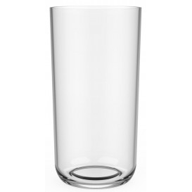 Plastic glas Tritan Herbruikbaar transparant 325ml (6 stuks)