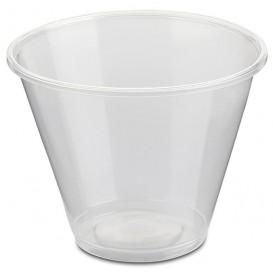 Plastic PP Container transparant 280ml Ø9,4cm (50 stuks)
