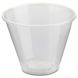 Plastic PP Container transparant 280ml Ø9,4cm (800 stuks)