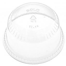 Plastic PET koepel Deksel Kristal Ø9,2cm (1000 stuks)