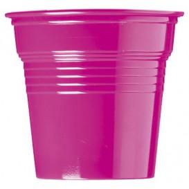 Vaso de Plástico PS Fucsia 80ml Ø5,7cm (1500 Uds)