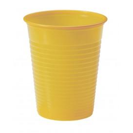 Plastic PS beker Mango 200ml Ø7cm (1500 stuks)