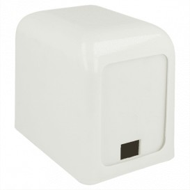 "Servet plastic dispenser ""Miniservis"" wit 15x10x12,5cm (1 stuk)"
