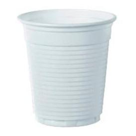 Plastic PS beker Vending wit 160 ml (100 stuks)