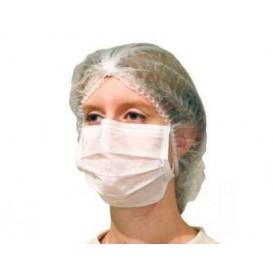 """Wegwerp chirurgisch masker Rechthoekige vorm """"TST"""" wit 2C (1000 stuks)"""