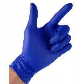 Nitril handschoenenen blauw maat S 4,5G (100 stuks)