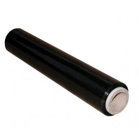 Handmatige pallet wikkelfolie 5cm 2,8Kg zwart (1 stuk)