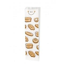 """Papieren voedsel zak """"Panes"""" 9+5x50cm (125 stuks)"""