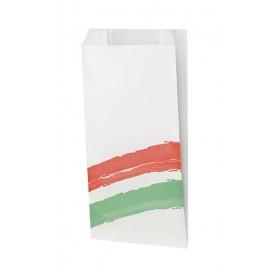 Papieren stokbrood zak Vetvrij met Opening 9+5x32cm (125 stuks)