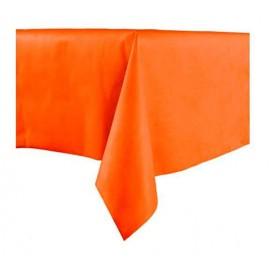 Tafelkleed Novotex niet geweven oranje 100x100cm (150 stuks)