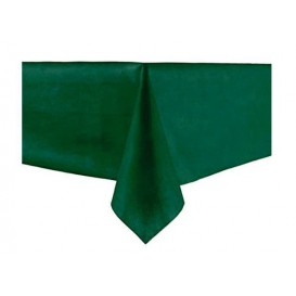 Tafelkleed Novotex niet geweven groen 100x100cm (150 stuks)