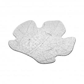 Proeving Plastic bord PS Plat transparant 8x6,6 cm (25 stuks)