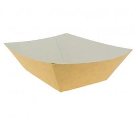 Kartonnen Snackbakjes kraft 525ml 12,2x8x5,5cm (25 stuks)