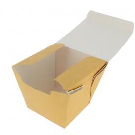 Papieren take-out Container Wok kraft 450ml (350 stuks)