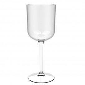 "Plastic herbruikbaar glas Wijn ""Tritan"" transparant 470ml (1 stuk)"