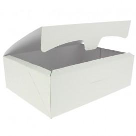 Gebakdoos karton Witte 2Kg wit 25,8x18,9x8cm (125 stuks)