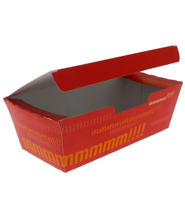 BIO Kartonnen take-out doos 16,5x7,5x6cm (25 stuks)