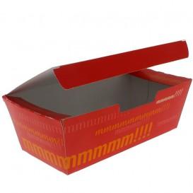 BIO Kartonnen take-out doos 16,5x7,5x6cm (600 stuks)