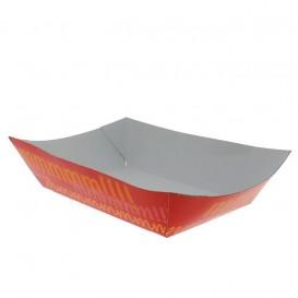 Kartonnen Snackbakjes 300ml 11,0x7,0x3,5cm (25 stuks)